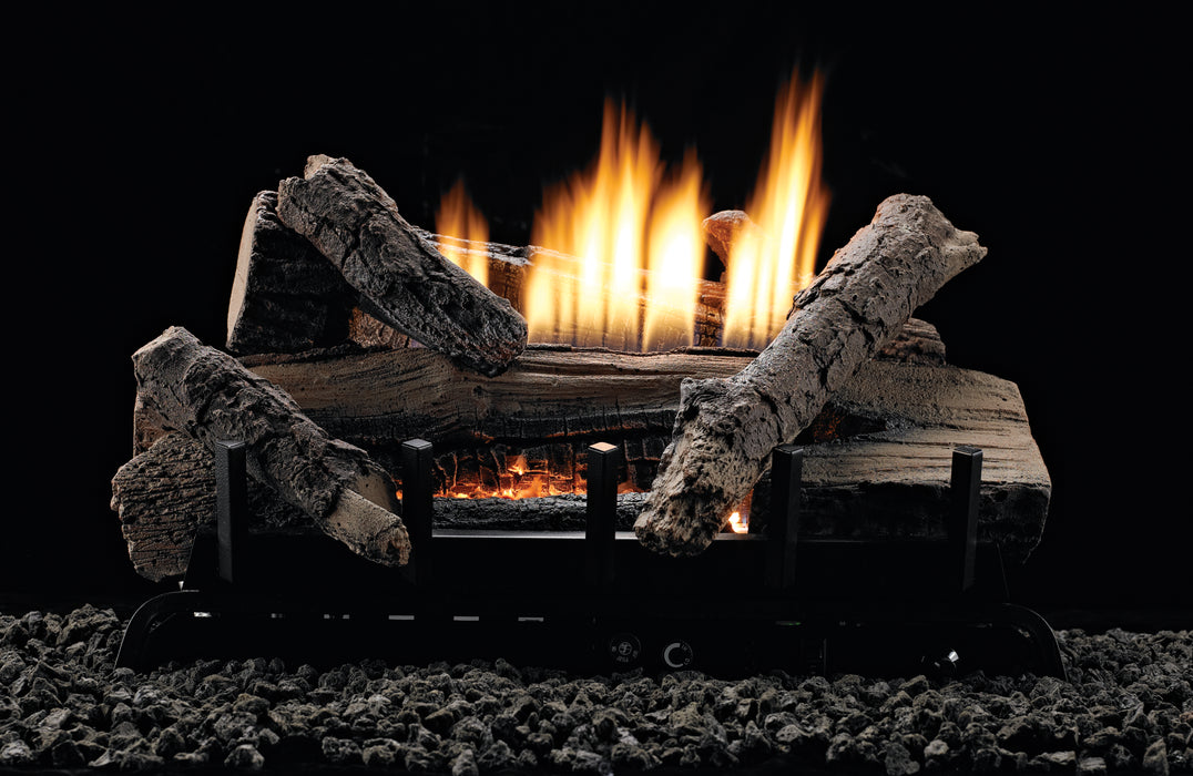 Whiskey River 10,000 Btu Vent Free Gas Logs : Vent Free Logs - The Gas Log Experts