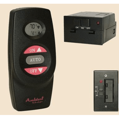 Ambient On/Off Thermostat Remote for Millivolt Gas Logs : Remote Controls - The Gas Log Experts