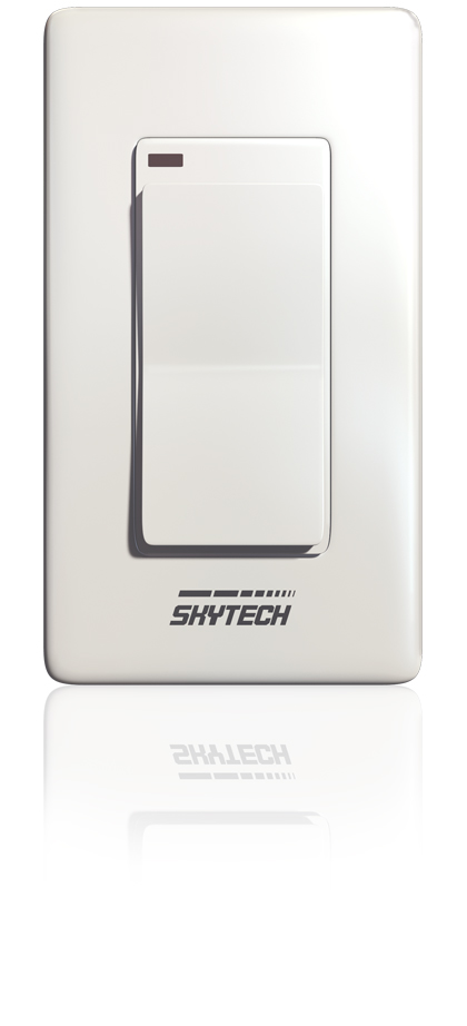 Skytech Wireless Wall Switch For Millivolt Gas Logs : Remote Controls - The Gas Log Experts
