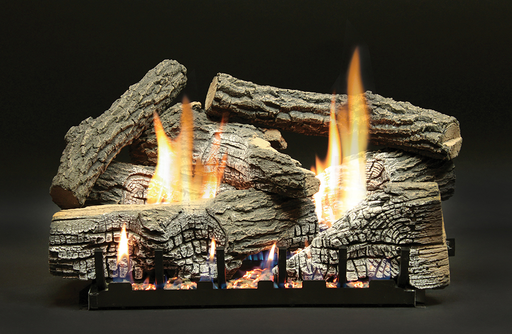 Super Stacked Wildwood Refractory Vented Gas Logs : Vented Logs - The Gas Log Experts