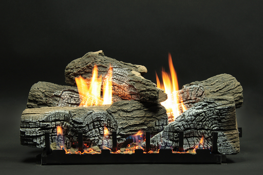 Stacked Wildwood Vented Gas Logs : Vented Logs - The Gas Log Experts