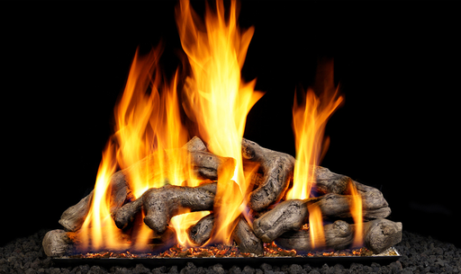 Shoreline Driftwood Vented Gas Logs : Vented Logs - The Gas Log Experts
