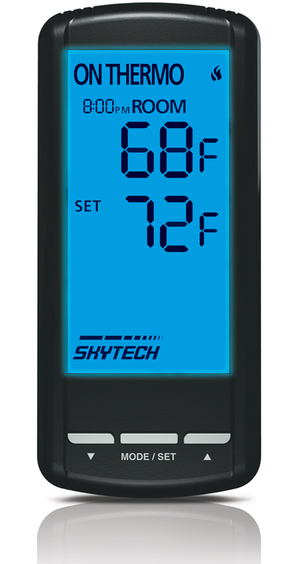 Skytech Thermostatic With Timer Remote For Gas Logs : Remote Controls - The Gas Log Experts