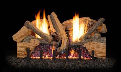 Foothill Split Oak Vent Free Gas Logs : Vent Free Logs - The Gas Log Experts