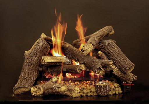Pioneer Refractory Vented Gas Logs : Vented Logs - The Gas Log Experts