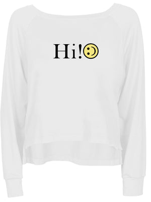 Hi! Roadtrip Sweater
