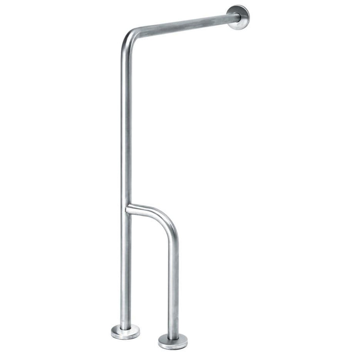 MEDICLINICS BSI020CS Barra Pared/Suelo 3 Apoyos Inox Satinado