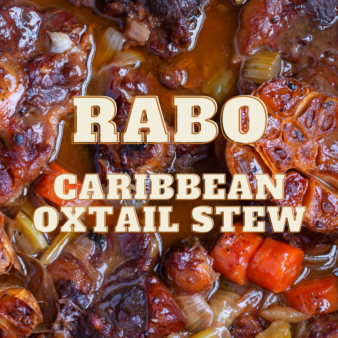 Caribbean Style Oxtail Rabo Guisado