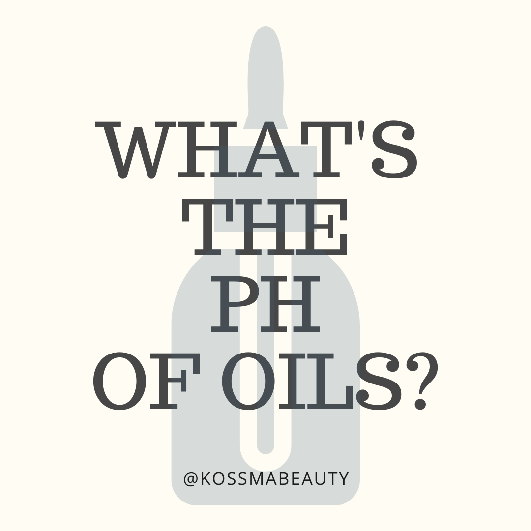 What's the PH of oils?
