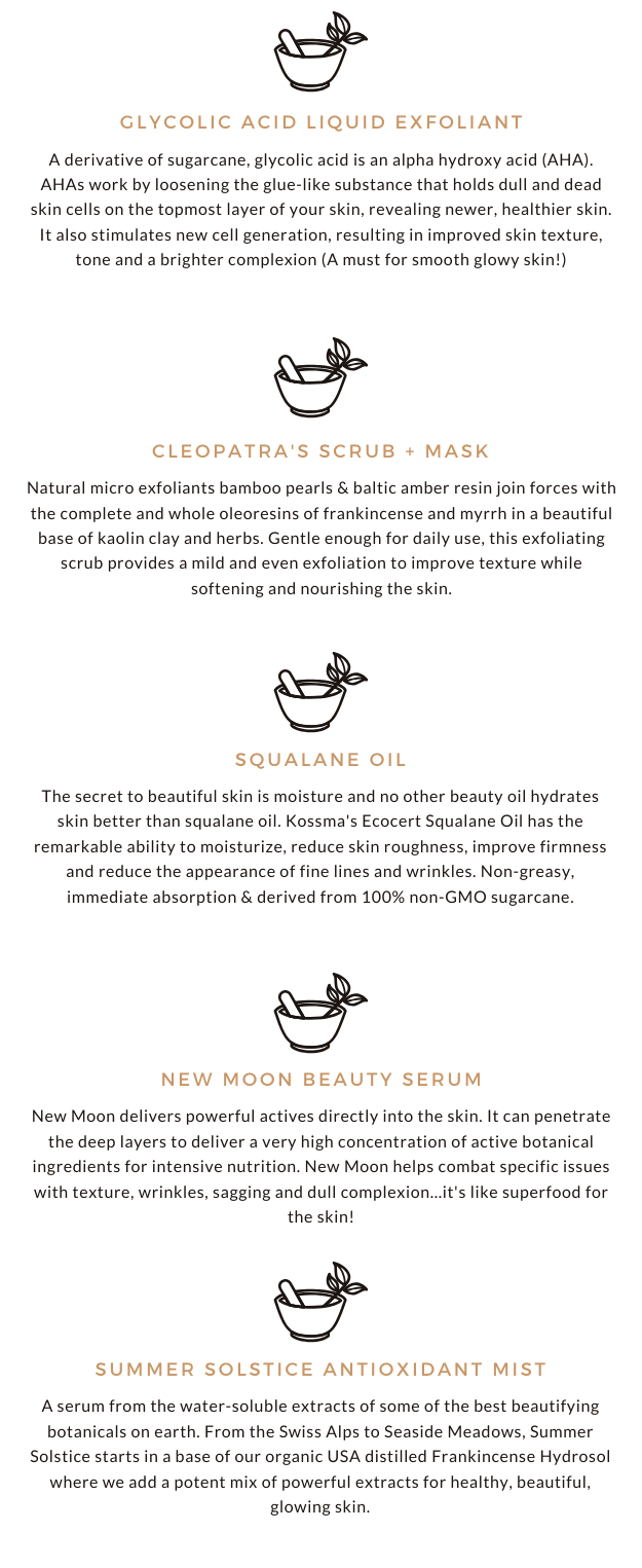 KOSSMA BEAUTY SQUALANE OIL