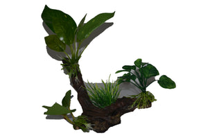 #Aquarium ornaments #plant ornament