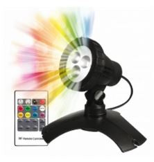PondMAX 3 LED Multi Colour Pond & Garden Light (with remote)