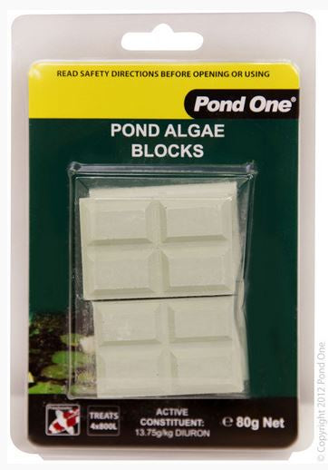 POND ONE Block Pond Algae Eliminator 4pk 20g X 4