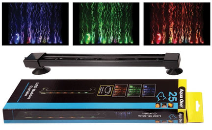 AQUA ONE Airstone LED Colour Changing 25cm