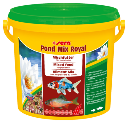 #pond mix #mix royal #sera pond food #pond food