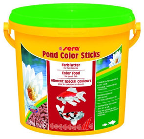 #sera pondsticks #pond food #pond sticks