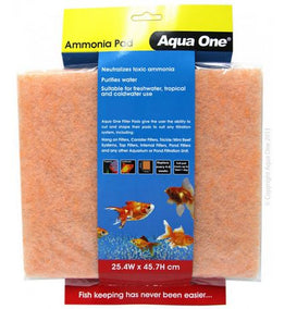 AQUA ONE Ammonia Pad Self Cut Filter Pad
