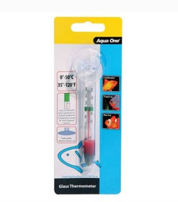 AQUA ONE Aqua One Glass Thermometer