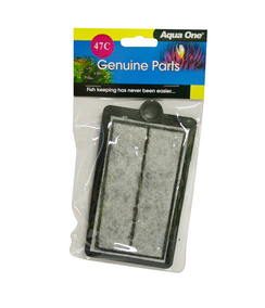 AQUA ONE Carbon Cartridge 1pk 47c