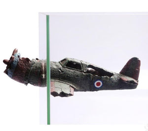 Wrecked Bomber Magnetic Ornament
