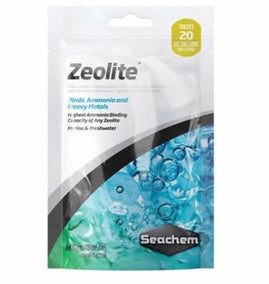 Seachem Zeolite 100ml bagged
