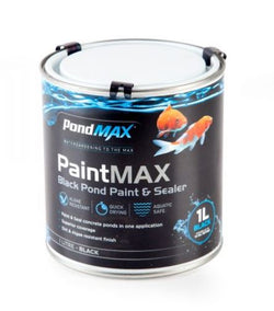 PondMax Paint & Pond Sealer Black 1 litre