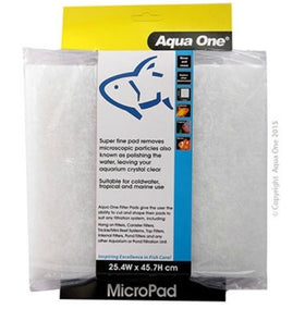 AQUA ONE Micro Pad Self Cut Filter Pad