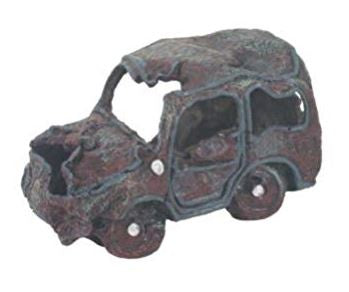 Wrecked Car Ornament