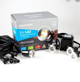 elluminate 4 Piece Deck Light Kit