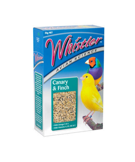 Whistler Avian Science Canary and Finch 2kg