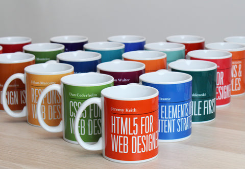 Book Cover mugs