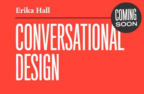 Conversational Design coming soon