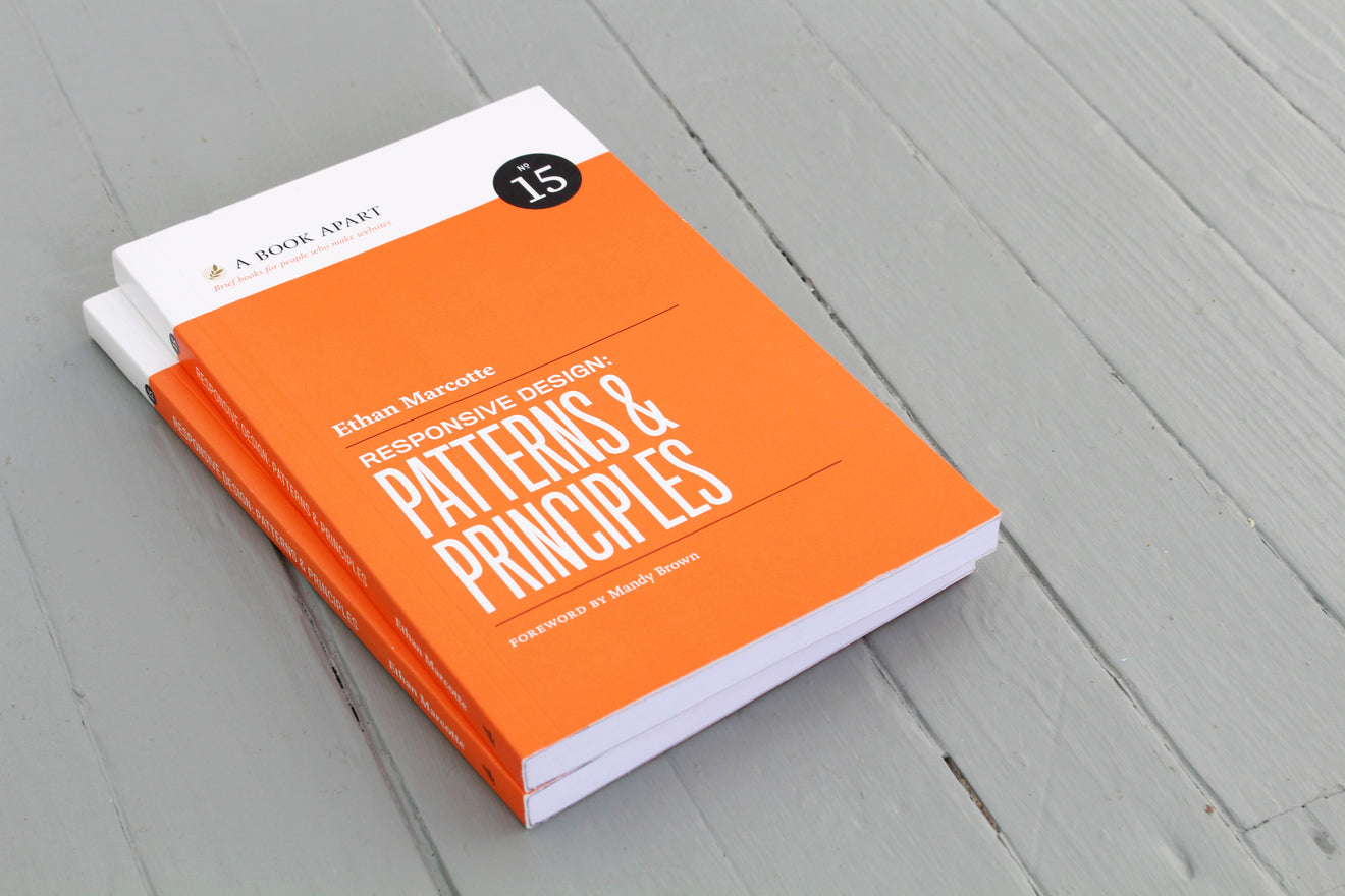 Book Cover Design Principles : A book apart responsive design patterns principles