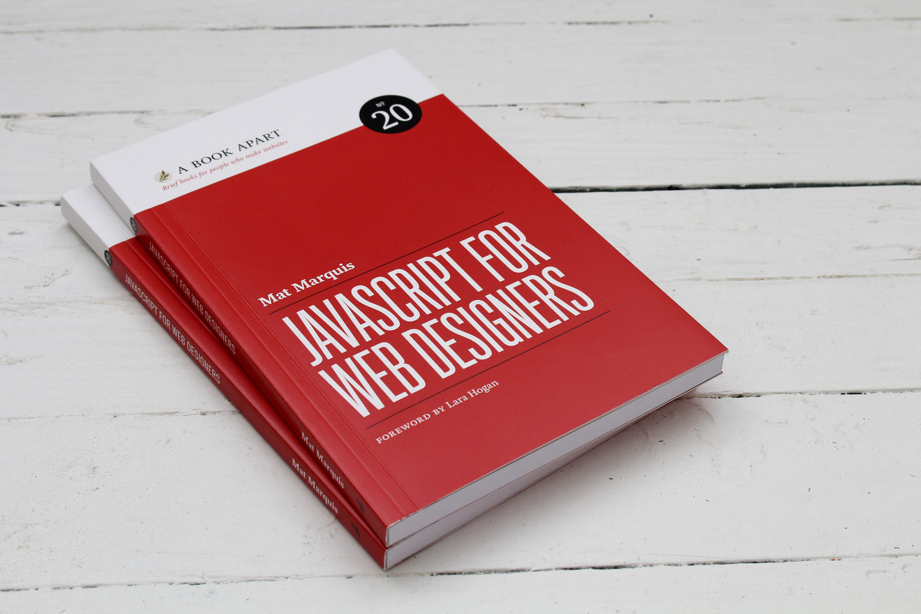 Book Cover Making Websites : A book apart javascript for web designers