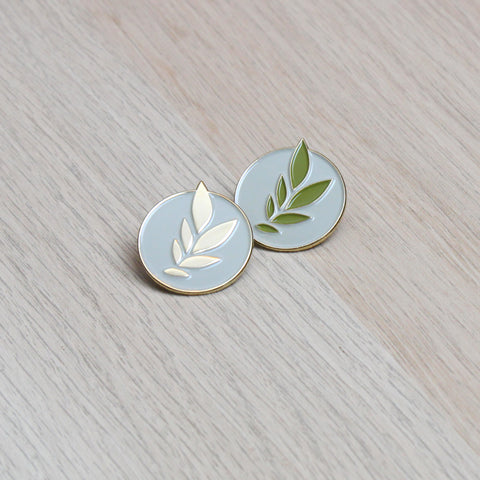 Laurel Leaf Pin