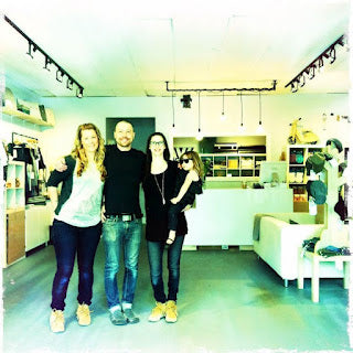 meet the crew at thrive lifestyle boutique on Salt Spring Island.