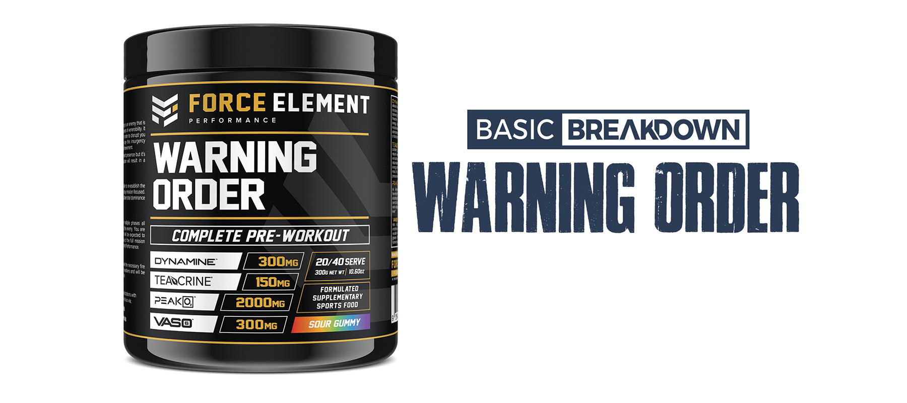 Force Element Performance Warning Order Supplement Review | Basic Breakdown