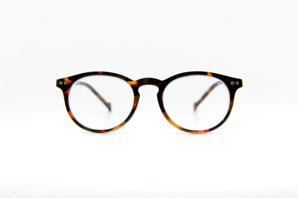#Round Reading Black Orange - C'est la vue