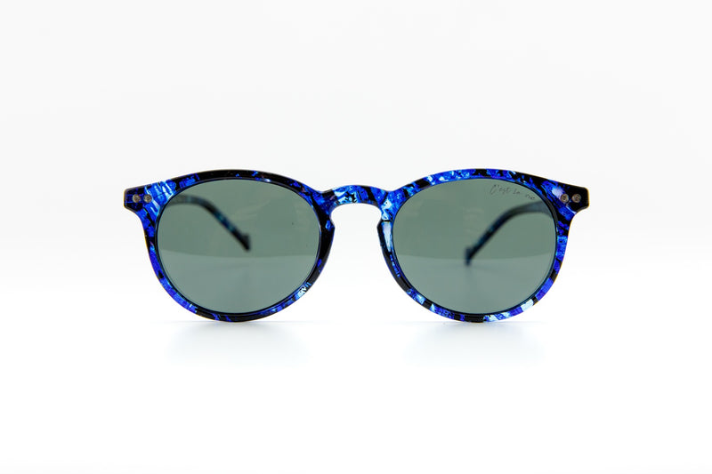 #Round SunRead Blue Crystal