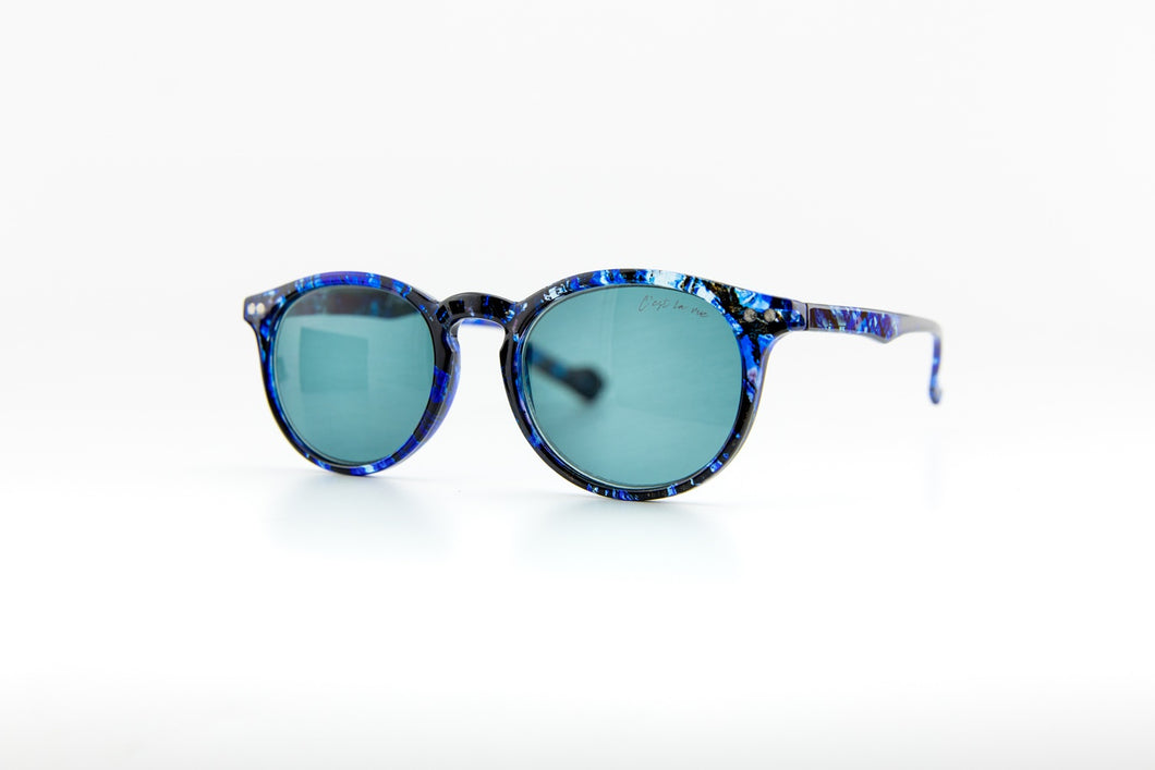 #Round Polarized Blue Crystal