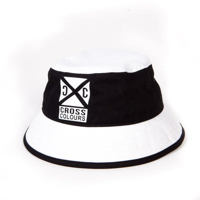 Bucket Hat - Black/White