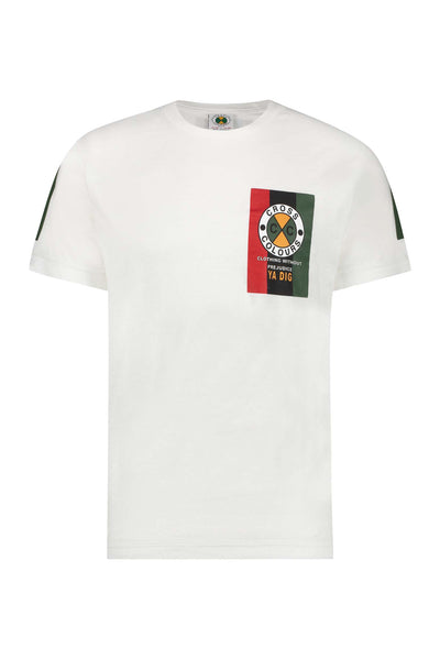 Flag Logo T-Shirt - White