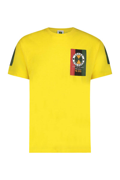 Flag Logo T-Shirt - Yellow