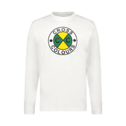 CIRCLE LOGO L/S T-SHIRT - WHITE