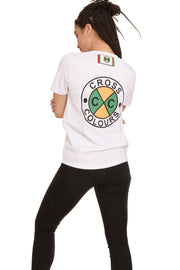 CIRCLE LOGO BASEBALL JERSEY - WHITE