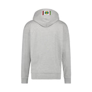 CIRCLE LOGO PULLOVER HOODIE - HEATHER GREY