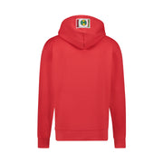 CIRCLE LOGO PULLOVER HOODIE - RED
