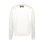 CIRCLE LOGO SWEATSHIRT - WHITE