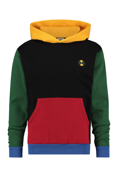 Colour Block Hoodie - Multi