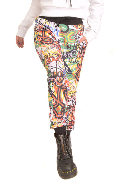 GRAFFITI A/O PRINT SWEATPANT - MULTI